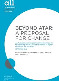 BEYOND ATAR: A PROPOSAL FOR CHANGE